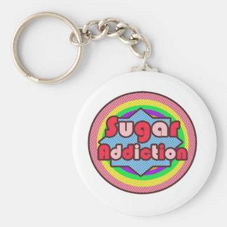 Sugar Addiction Keychain