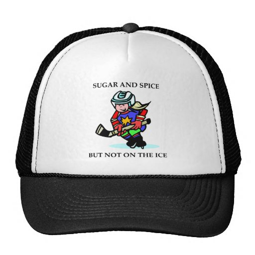 Sugar and Spice but Not on the Ice Mesh Hats