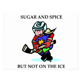 Sugar and Spice but Not on the Ice Post Cards