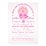 Sugar and Spice Cupcake Baby Shower Invitation