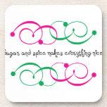 Sugar And Spice Drink Coaster