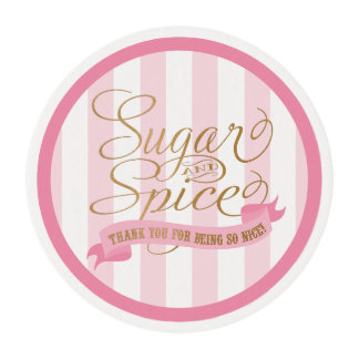 Sugar and Spice Edible Frosting Sheets