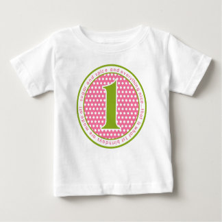 Sugar and Spice First Birthday T shirt