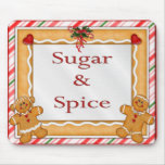Sugar and Spice Mouse Mat