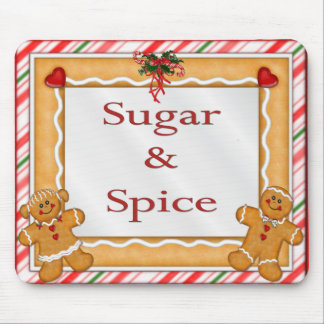 Sugar and Spice Mouse Pad