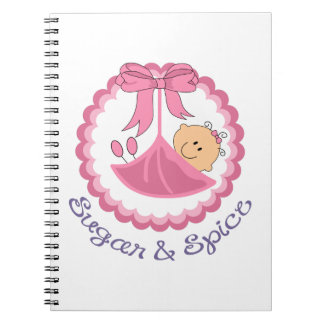 Sugar And Spice Notebook
