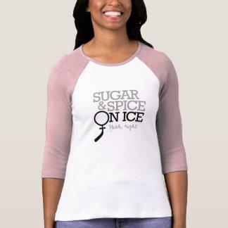 Sugar And Spice On Ice Tee Shirt