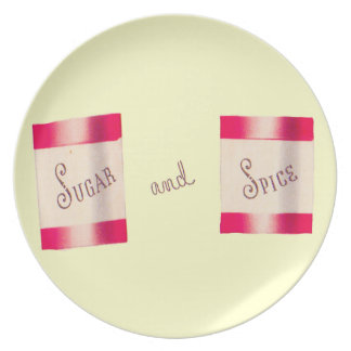 Sugar and Spice Party Plates