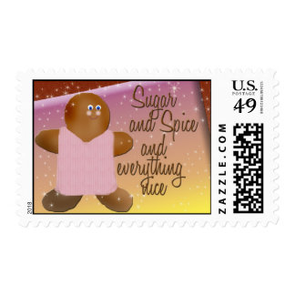 Sugar and spice postage stamps
