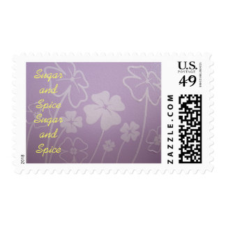 Sugar and Spice postage stamps Everything Nice