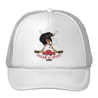 Sugar and Spice Womens Hockey Trucker Hat