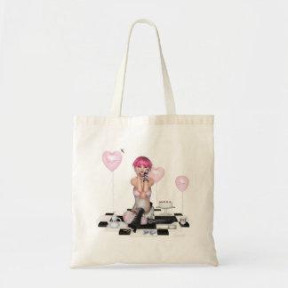 Sugar and sweet canvas bag
