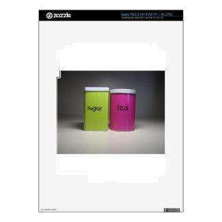 Sugar and Tea - Tea Time iPad 3 Skin