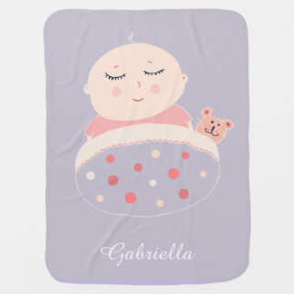 Sugar Baby Girl Baby Blanket