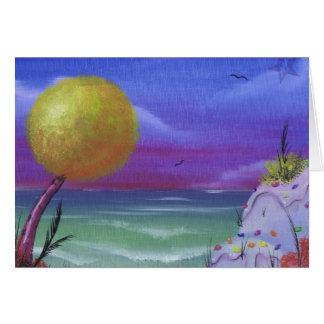 sugar beach greeting card