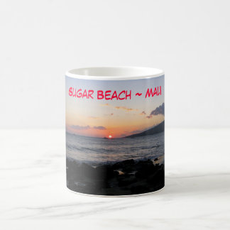 Sugar Beach ~ Maui Classic White Coffee Mug
