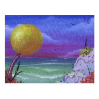 sugar beach postcard
