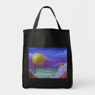 sugar beach tote bag
