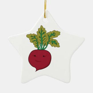 Sugar Beet Ceramic Ornament