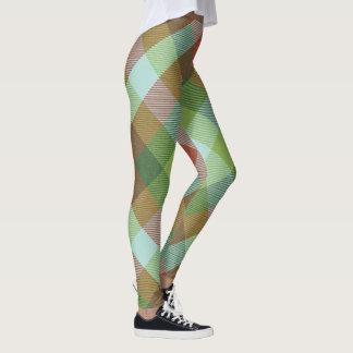 Sugar Beet Tartan ~ Big & Soft Leggings