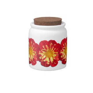 Sugar Bowl/Candy Jar - StarSister Dahlia Candy Jar