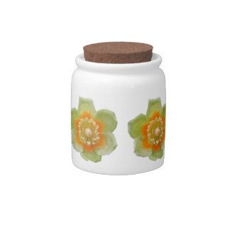 Sugar Bowl/Candy Jar - Tulip Poplar Tulip Candy Jars