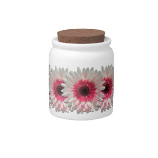 Sugar Bowl/Candy Jar - Watermelon Lollipop Daisies Candy Jars