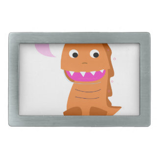 Sugar brown Dragon. Kids dragon Belt Buckle