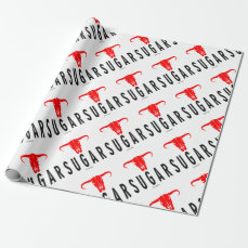 Sugar & Bull by Vimago Wrapping Paper