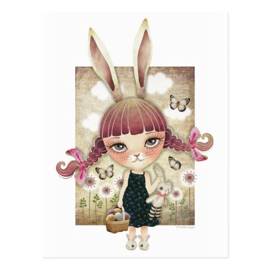 Sugar Bunny Postcards