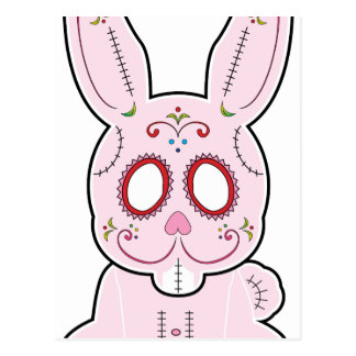 Sugar Bunny Series Postcard
