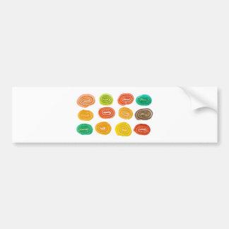 sugar candies bumper sticker