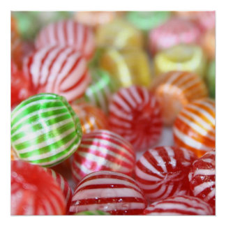 Sugar Candy Confectionary Poster