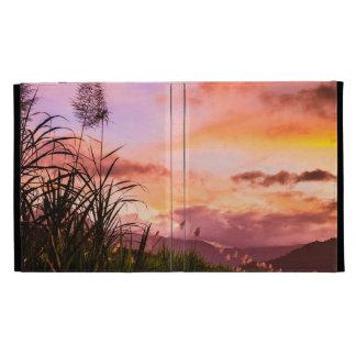 Sugar Cane Blossom at Sunset iPad Case