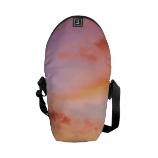 Sugar Cane Blossom at Sunset Courier Bag