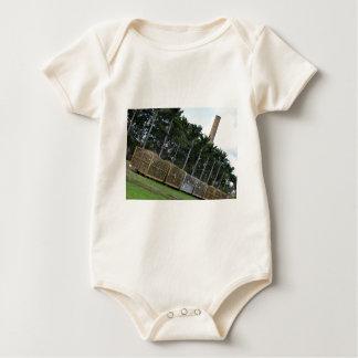 SUGAR CANE MILL & BINS RURAL QUEENLAND AUSTRALIA BABY BODYSUIT