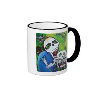 Sugar Cat Guardians Ringer Mug