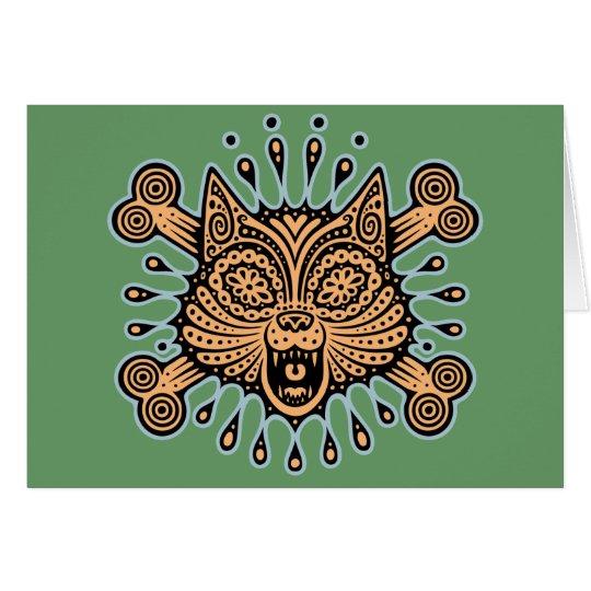 Sugar Cat Pirate Card