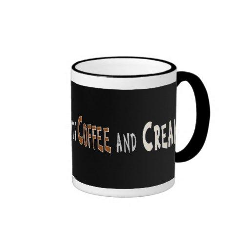 Sugar Coffee Cream Mugs