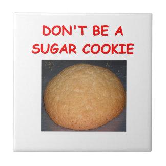 sugar cookie ceramic tile