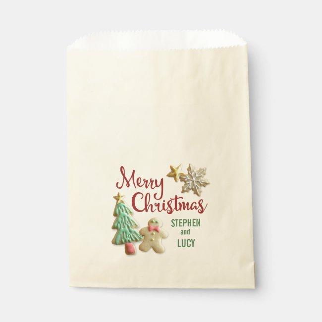 Sugar Cookie Christmas Custom Treat Bags