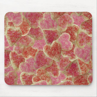 """""""Sugar Cookie Hearts"""" Mouse Pad"""