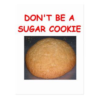 sugar cookie postcard