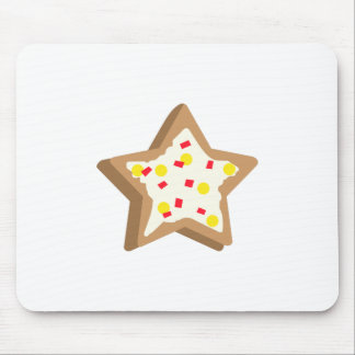 SUGAR COOKIE STAR MOUSE PAD