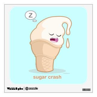Sugar Crash Wall Decal
