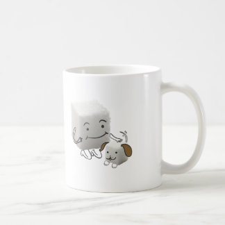 Sugar Cube Mug With Sugar Cube Dog