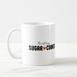 Sugar Cube Mug With Sugar Cube Friends