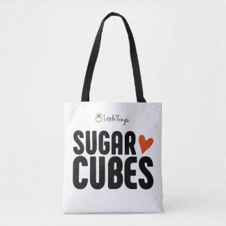 Sugar Cube Tote Bag With Furbaby