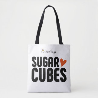 Sugar Cube Tote Bag With Sugar Cube Baby