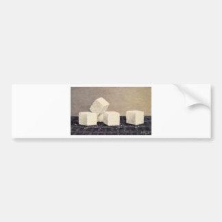 Sugar Cubes Bumper Sticker